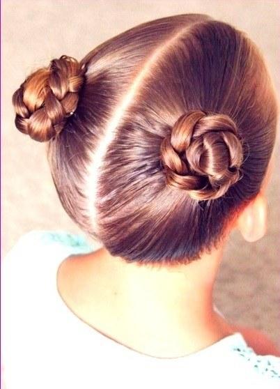 trenzas para niñas pelo corto