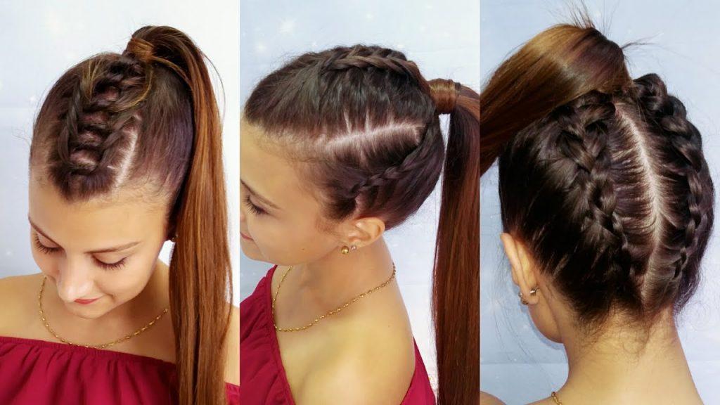 trenzas en pelo largo