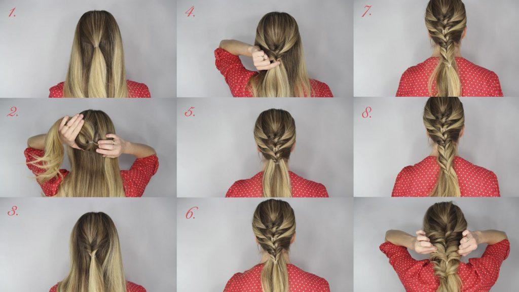 como hacer trenzas en el pelo