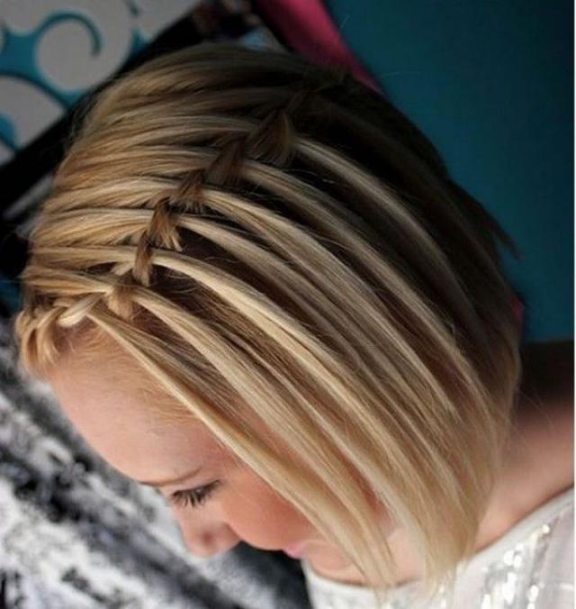 Como trenzar cabello corto