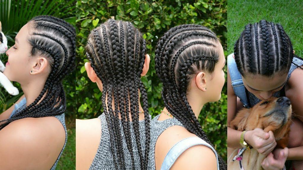 trenzas africanas box braids