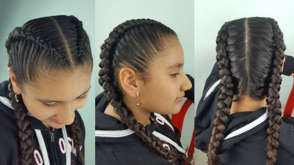 trenzas boxeadora fashion