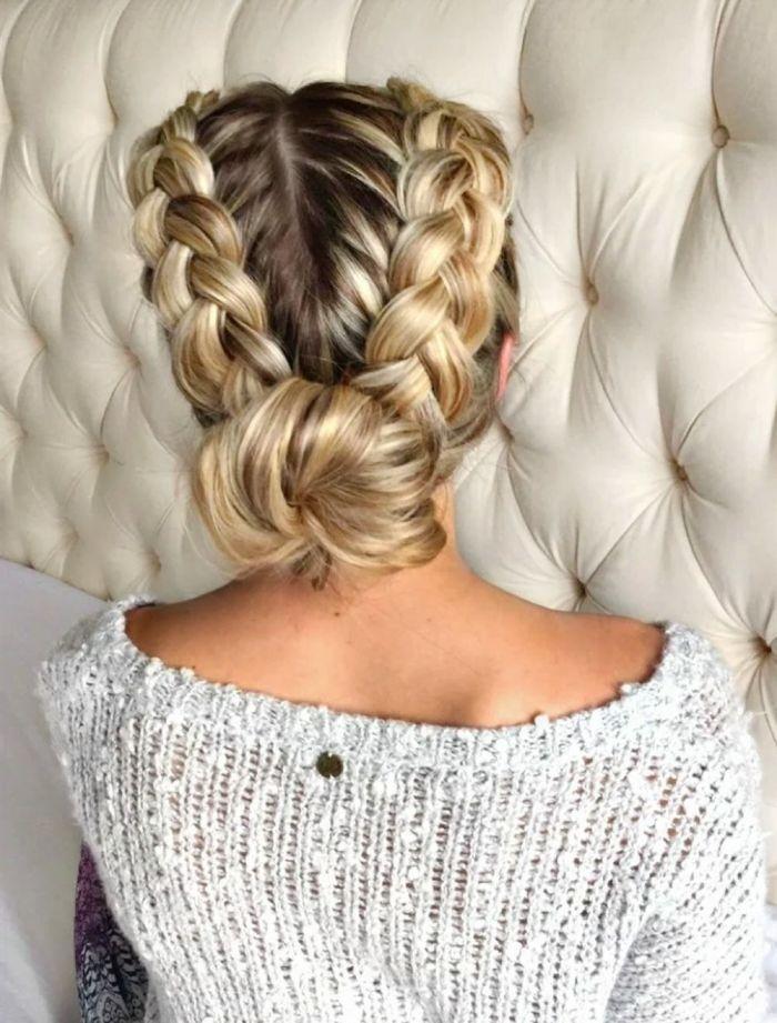 trenzas para chicas con poco cabello