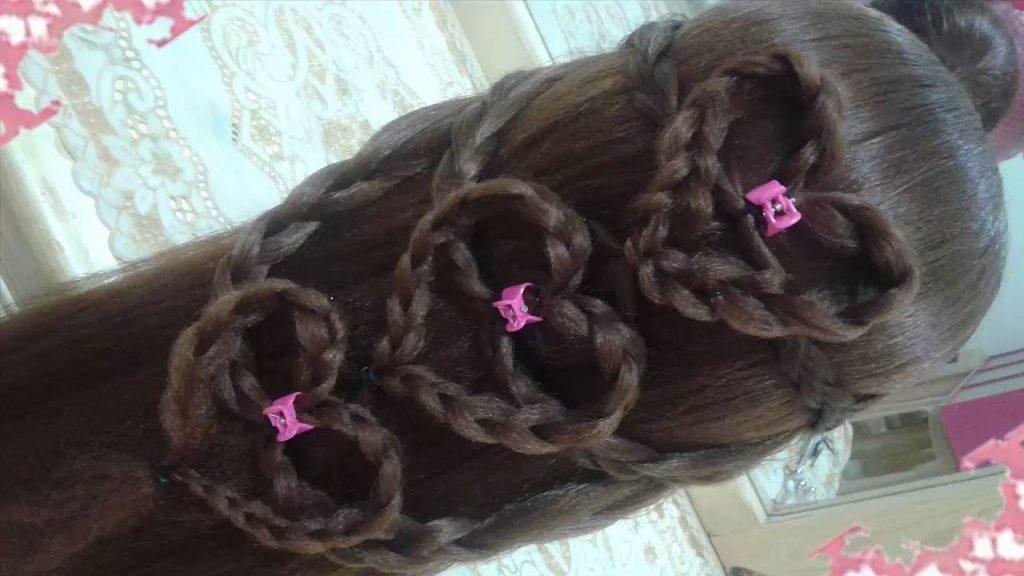 trenzas pelo largo peinados
