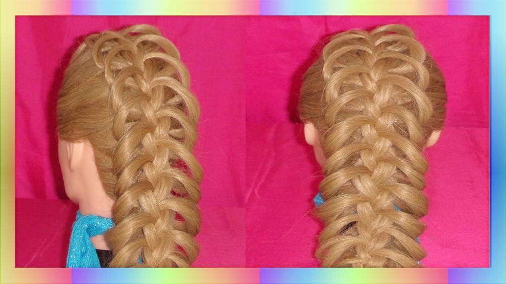 trenzas bonitas de todo el cabello
