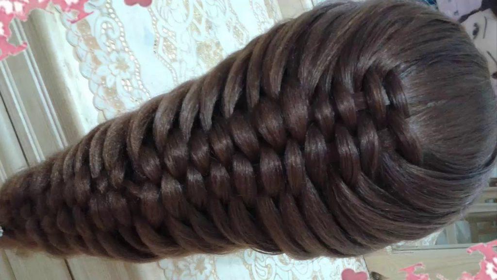 trenzas faciles para pelo largo paso a paso